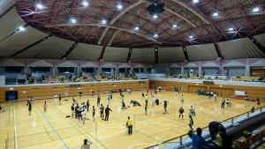 アスパーク亀田の体育館で行われました。